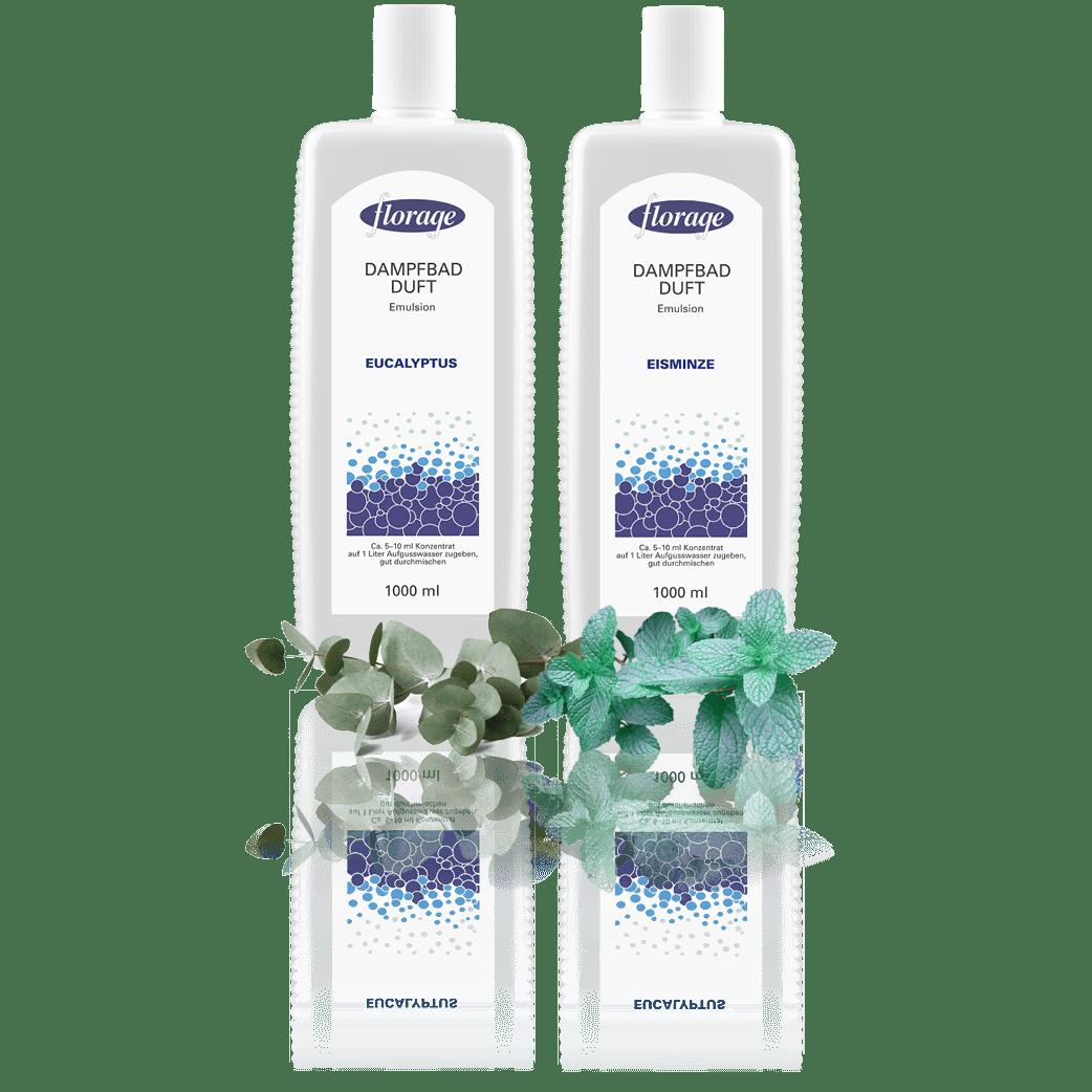 Schreiber Essenzen Dampfbad Emulsion Eukalyptus Eisminze